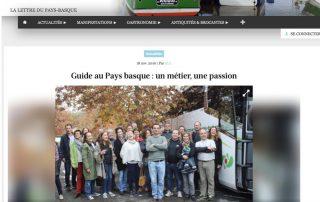 Présentation de Visites Guidées Pays Basque sur Baskulture